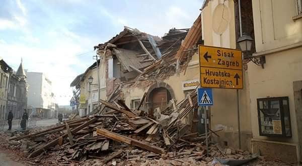 Erdbeben in Kroatien